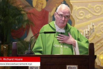 Mass online   Thursday , June 4th 2020   Fr. Richard Hoare