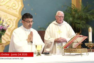 Mass Online   June 24 2020   Fr. Cesar Peña ( Spanish)