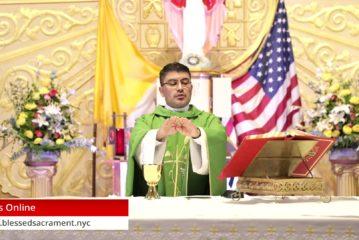 Mass Online   June 21 2020   Fr.  Cesar Peña ( Spanish Mass)