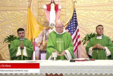 Mass Online   June 25 2020   Fr. Richard Hoare ( Bilingual)