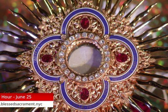 Holy Hour| June 25 2020 | Fr. Cesar Peña