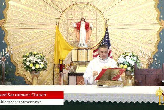 Mass online   Saturday June 6th 2020   Fr. Gabriel Toro