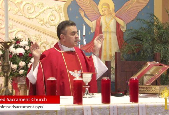 Día de Pentecostés | Mayo 31 2020 | 1:30PM | Fr. Gabriel Toro