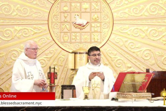Mass Online | July 1 2020 | Fr. Cesar Peña