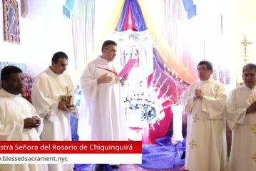 Fiesta Patronal de Colombia - Nuestra Señora del Rosario de Chiquinquirá