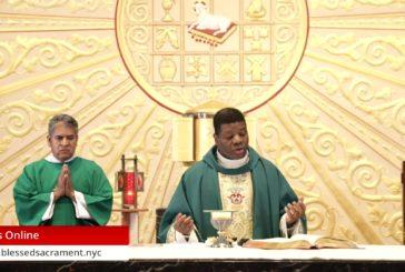 Mass Online   July 5 2020   Fr. Saint Charles Borno ( Spanish Mass)