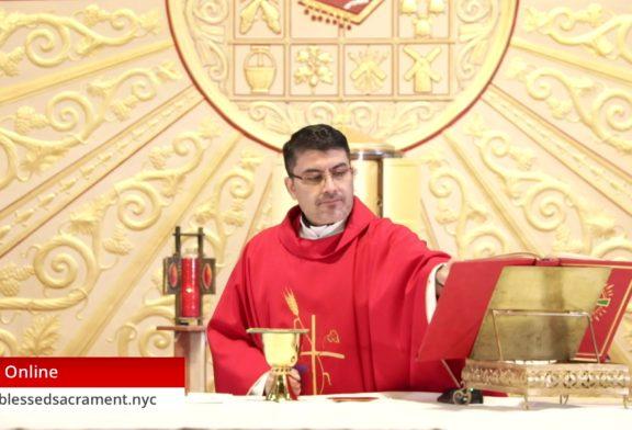 Mass Online   July 3 2020   Fr. Cesar Peña