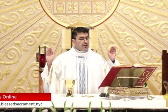 Mass Online | July 11 2020 | Fr. Cesar Peña