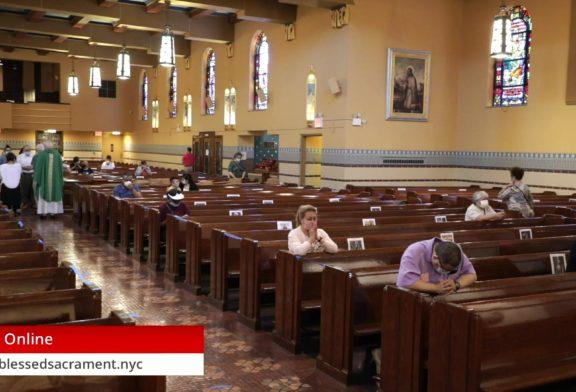 Mass Online   July 19 2020   Fr. Richard Hoare ( Sunday English  Mass) 12:PM