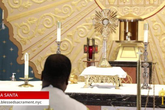 Holy Hour   July 23 2020   Fr. Saint Charles Borno