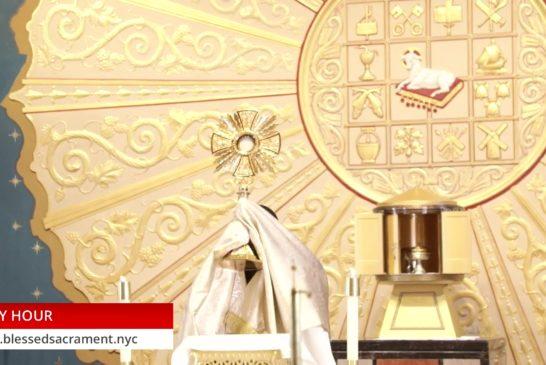 Holy Hour | July 2 2020 | Fr. Saint Charles Borno