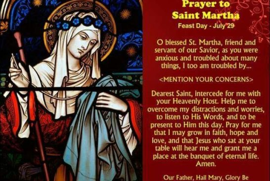 Saint Martha | Saint of the Day for July 29