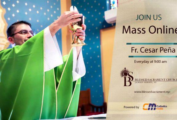 Mass Online   August 2nd 2020   Fr. Cesar Peña ( Spanish Mass)