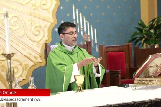 Mass Online | August 23th 2020 | Fr. Cesar Peña ( English Mass)