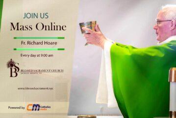 Mass Online | August 11th 2020 | Fr. Richard Hoare