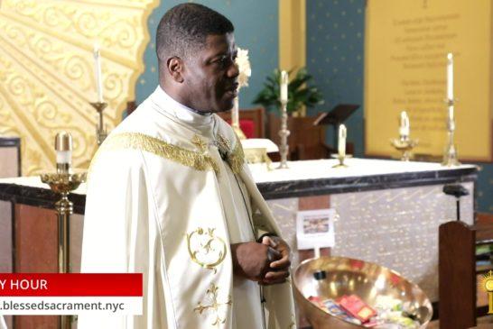 Holy Hour | August 4 2020 | Fr. Saint Charles Borno