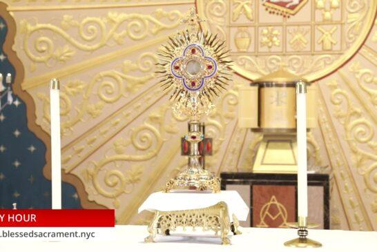 Holy Hour | August 11 2020 | Fr. Cesar Peña