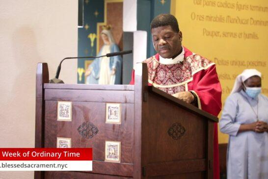Mass Online | August 13th 2020 | Fr. Saint Charles Borno
