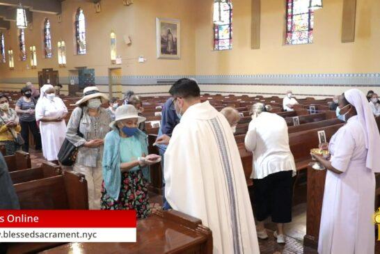 Mass Online | August 15th 2020 | Fr. Cesar Peña