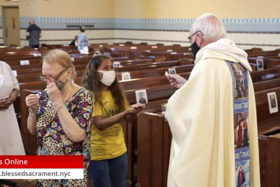 Mass Online   August 22th 2020   Fr. Richard Hoare