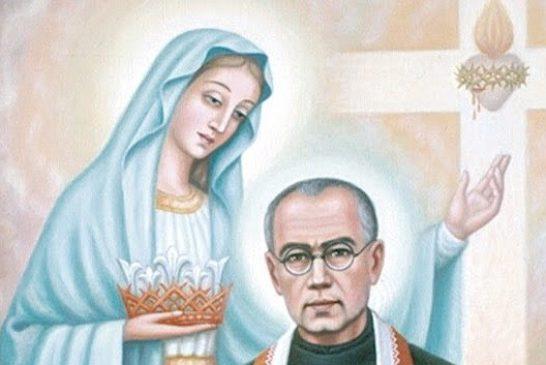 Saint Maximilian Mary Kolbe   Saint of the Day for August 14