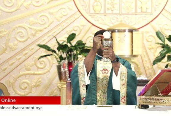 Mass Online   September 6 2020   Fr. Saint Charles Borno (Sunday  English Mass)