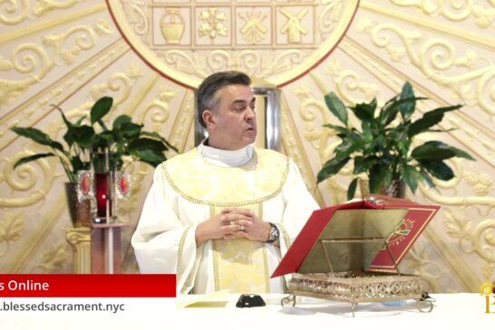 Mass Online   September 7 2020   Fr. Gabriel Toro