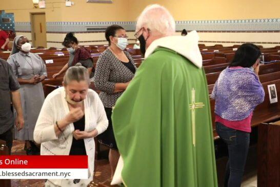 Mass Online   September 10 2020   Fr. Richard Hoare