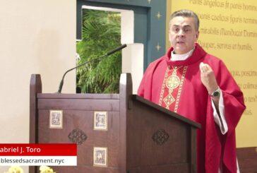 Mass Online   September 16 2020   Rev. Gabriel Toro