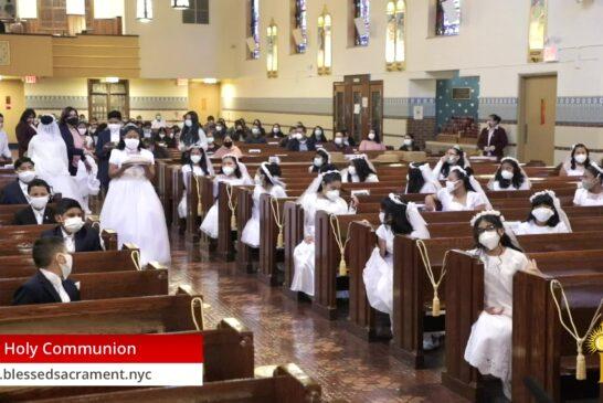 First Holy Communion  | September 19 2020 | Rev. Saint Charles Borno  |  9:00 am