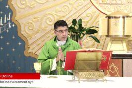 Mass Online | September 18 2020 | Rev. Cesar Peña