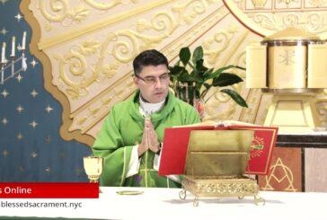 Mass Online   September 18 2020   Rev. Cesar Peña