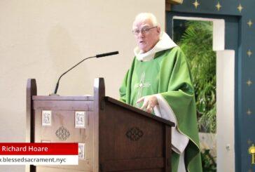 Mass Online   September 22 2020   Rev. Richard Hoare