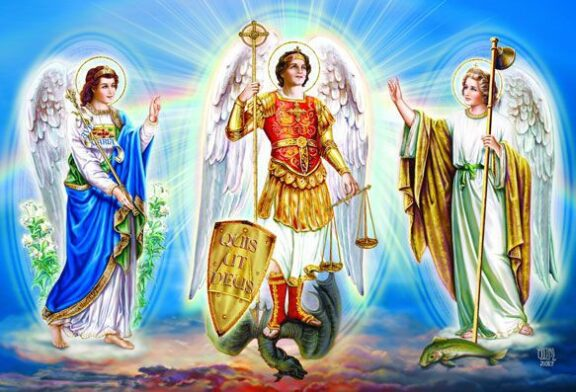 Saints Michael, Gabriel, and Raphael   Saint of the Day for September 29