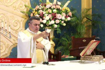 Mass Online   October 16 2020   Rev. Gabriel Toro