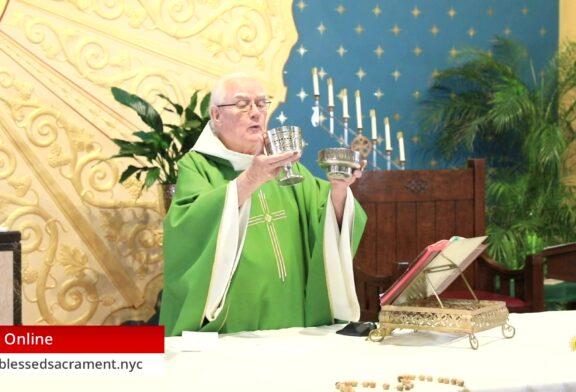 Mass Online | October 3 2020 | Rev. Richard Hoare