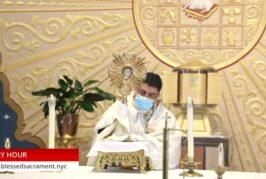 Holy Hour   Sept 29th 2020   Rev. Cesar Peña