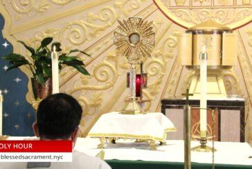 Holy Hour | October 13th 2020 | Rev. Cesar Peña