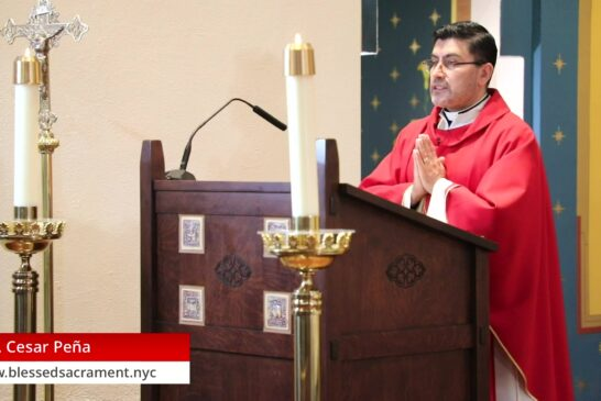 Mass Online | October 9 2020 | Rev. Cesar Peña