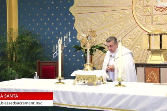 Holy Hour   October 8 th 2020   Rev. Gabriel Toro
