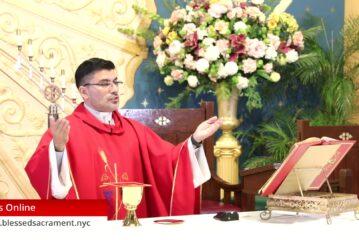 Mass Online   October 28 2020   Rev. Cesar Peña