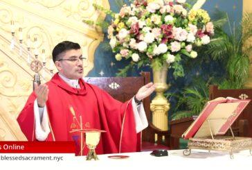 Mass Online | October 28 2020 | Rev. Cesar Peña