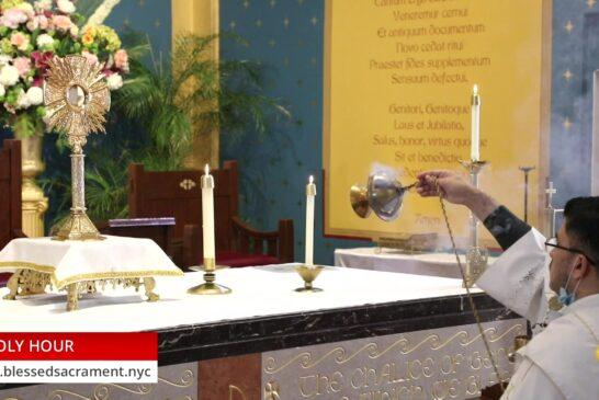 Holy Hour | October 27th 2020 | Rev. Cesar Peña