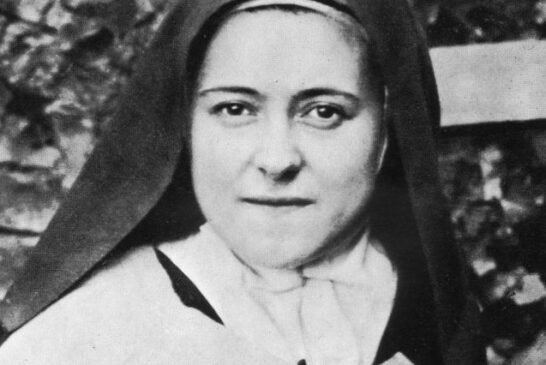Saint Thérèse of Lisieux   Saint of the Day for October 1