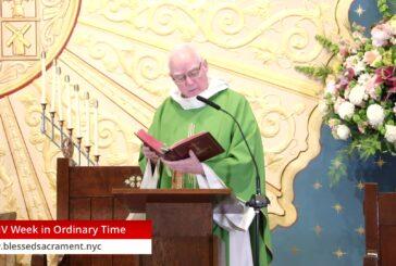 Mass Online   November 28th 2020   Rev. Richard Hoare