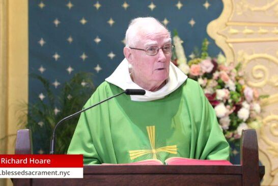 Mass Online | November 19th 2020 | Rev. Richard Hoare