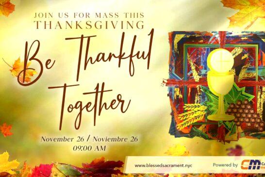 Mass Online | November 26th 2020 | Rev. Gabriel Toro R.