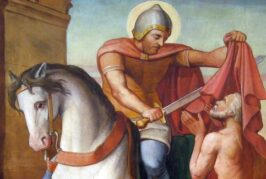 Saint Martin of Tours    Saint of the Day for November 11th