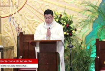 Mass Online | December 14th 2020  |  Rev. Cesar Peña