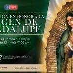 Mass Online   December 11th 2020   Misa Mañanitas Virgen de Guadalupe    Rev.  Gabriel Toro R.